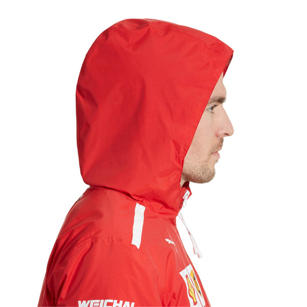 Scuderia Ferrari Men's Team Jacket, Rosso Corsa, large