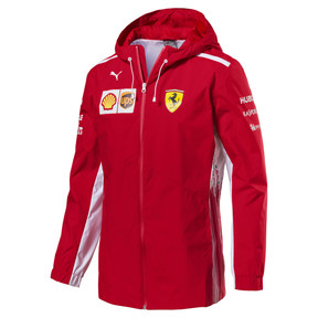 Thumbnail 1 of Scuderia Ferrari Men's Team Jacket, Rosso Corsa, medium