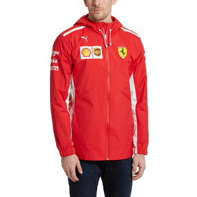 Thumbnail 2 of Scuderia Ferrari Men's Team Jacket, Rosso Corsa, medium