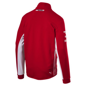 Thumbnail 3 of Scuderia Ferrari Men's Team Half Zip Fleece, Rosso Corsa, medium