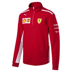 Thumbnail 1 of Scuderia Ferrari Men's Team Half Zip Fleece, Rosso Corsa, medium