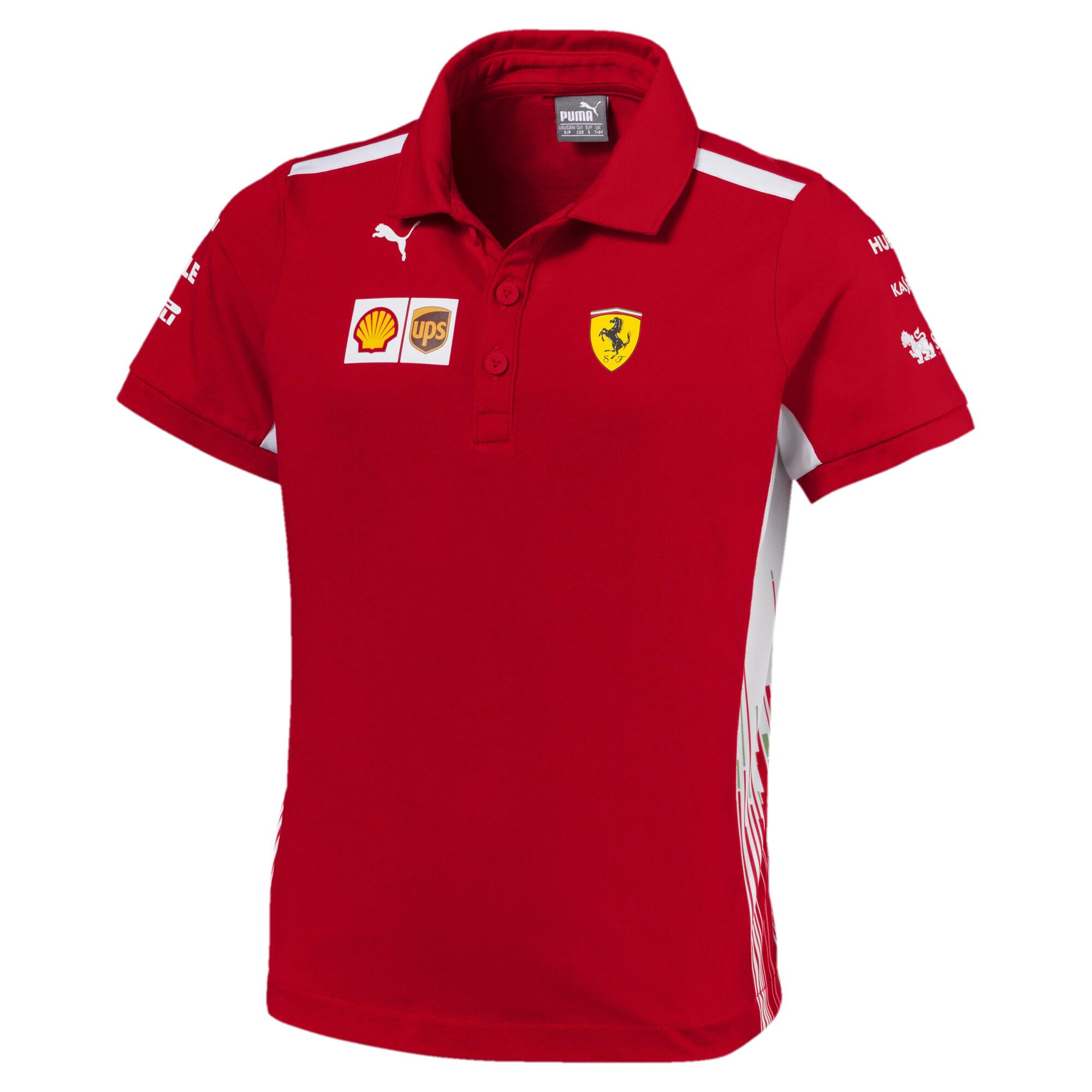 Image Puma Kids' Ferrari Team Polo #1