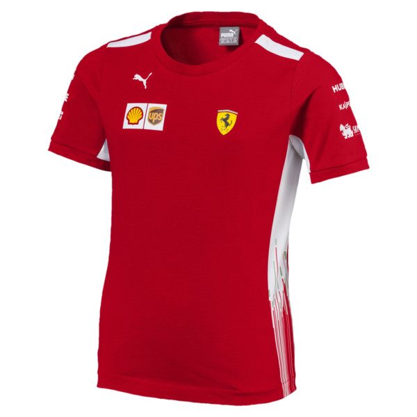 cf082f45ccd Ferrari Boy's Team T-Shirt | PUMA Scuderia Ferrari Collection | PUMA ...