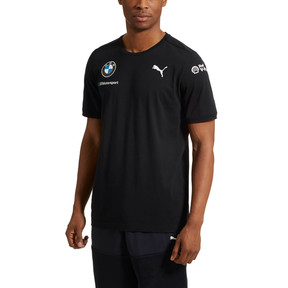 Thumbnail 2 of BMW M Motorsport Men's Team Tee, Anthracite, medium