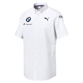 Thumbnail 1 of BMW M Motorsport Men's Team Shirt, Puma White, medium