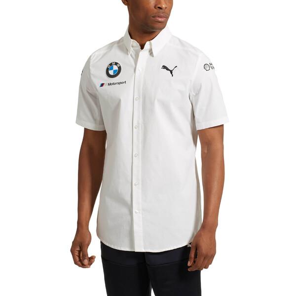 BMW Motorsport Men's Team Shirt, Puma White, large