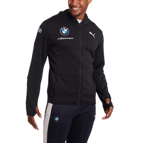 Thumbnail 2 of BMW M Motorsport Men's Team Midlayer Jacket, Anthracite, medium