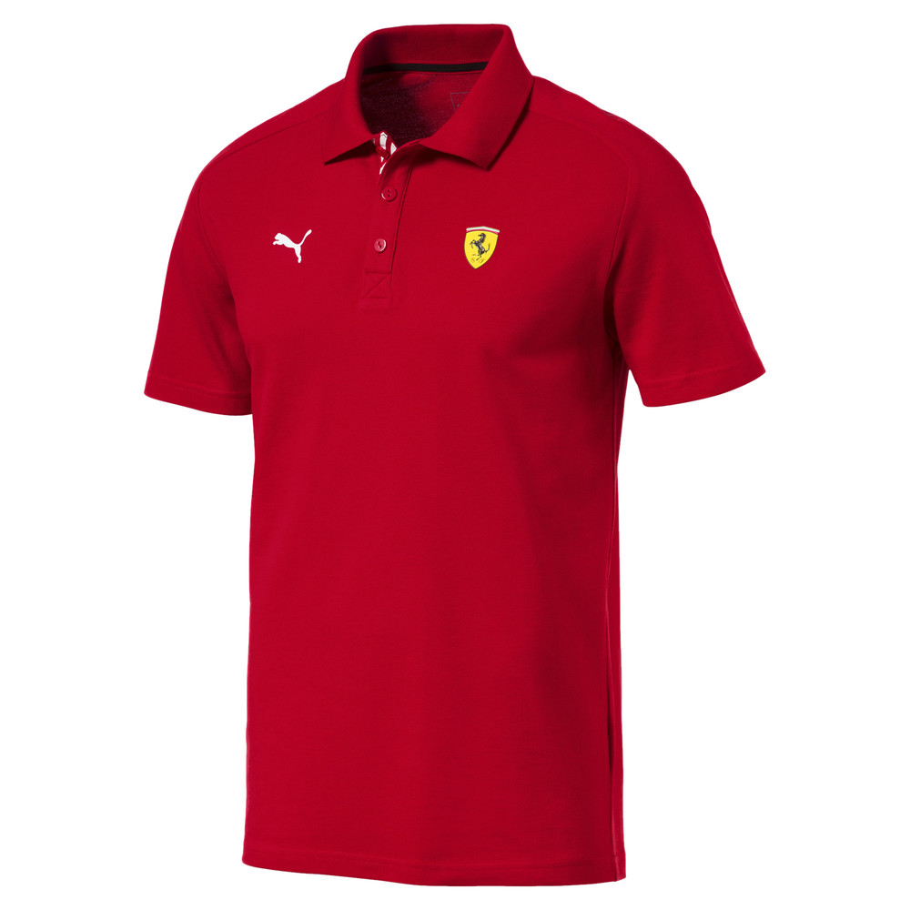 Image PUMA Men's Scuderia Ferrari Polo Shirt #1