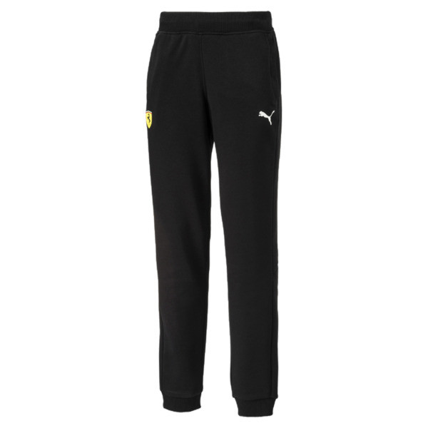 Ferrari Boys' Sweatpants, Puma Black, large