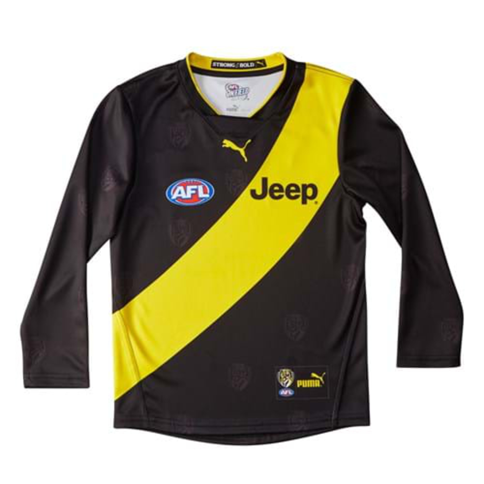 Image Puma Richmond Football Club Kid's Long Sleeve Home Guernsey #1