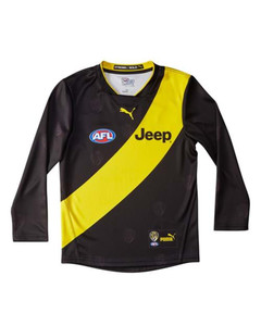 Image Puma Richmond Football Club Kid's Long Sleeve Home Guernsey