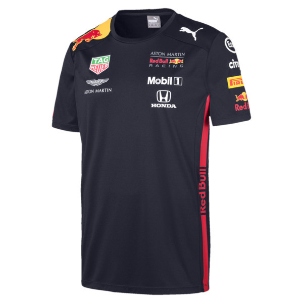 T-Shirt Red Bull Racing Team pour homme, NIGHT SKY, large