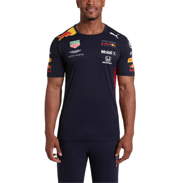 Red Bull Racing Men's Team Tee, NIGHT SKY, large