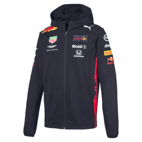 Thumbnail 1 of Red Bull Racing Team Hooded Men's Sweat Jacket, NIGHT SKY, medium