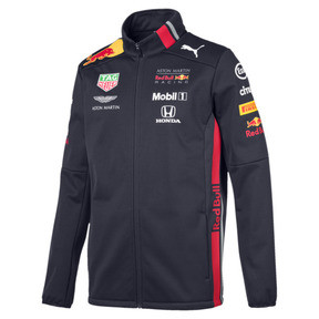 Thumbnail 1 of Red Bull Racing Team Men's Softshell Jacket, NIGHT SKY, medium