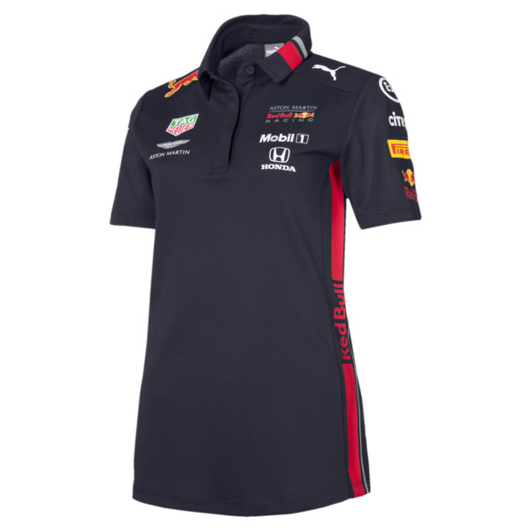 Red Bull Racing Team Women's Polo, NIGHT SKY, large