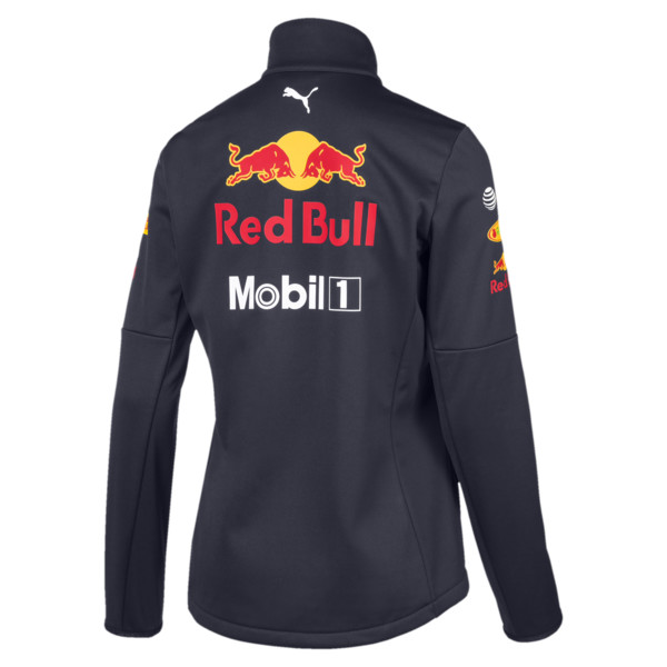 Red Bull Racing Team Women's Softshell Jacket, NIGHT SKY, large