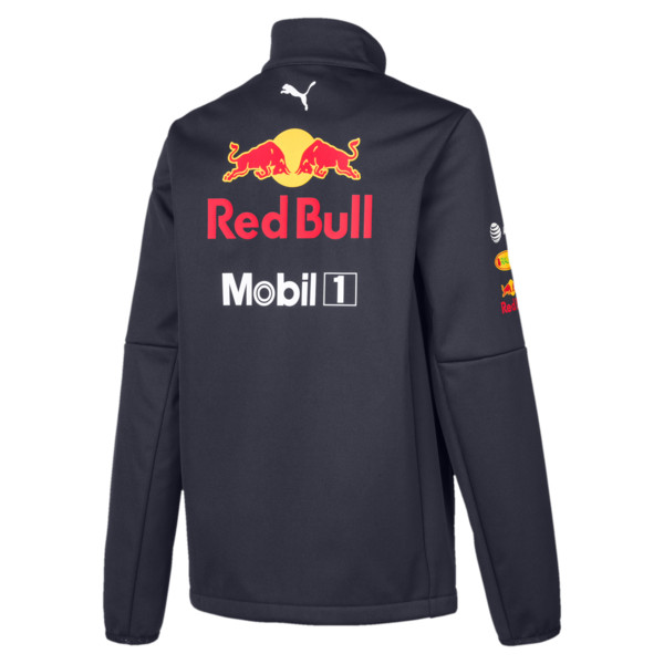 Red Bull Racing Team Boys' Softshell Jacket, NIGHT SKY, large