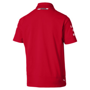 Thumbnail 2 of Ferrari Team Short Sleeve Men's Polo Shirt, Rosso Corsa, medium
