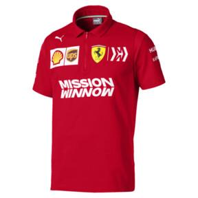 Męska koszulka polo Ferrari Team z krótkim rękawem