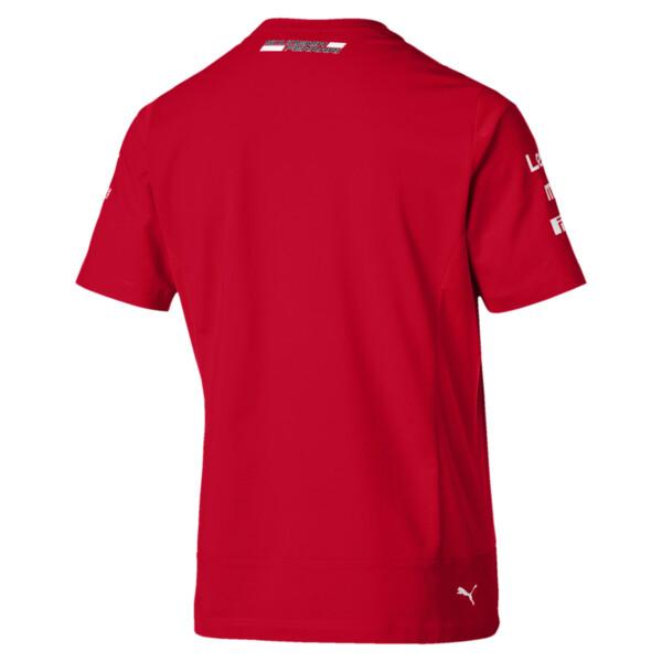 Ferrari Team Short Sleeve Men's Tee, Rosso Corsa, large