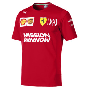 Ferrari Team Short Sleeve Men's Tee