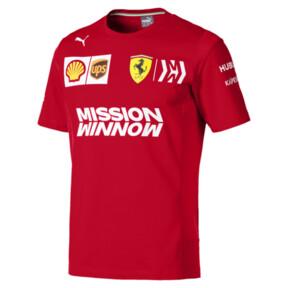 Thumbnail 1 of Ferrari Team Short Sleeve Men's Tee, Rosso Corsa, medium