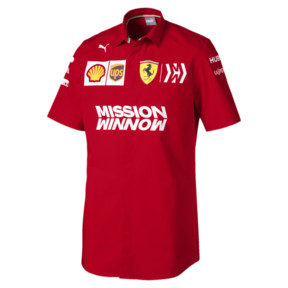 Ferrari Team Short Sleeve Men's Shirt