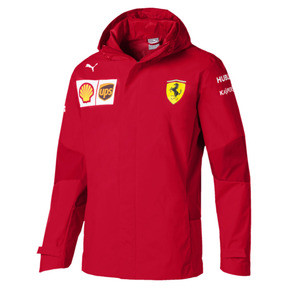 Męska kurtka z kapturem Ferrari Team