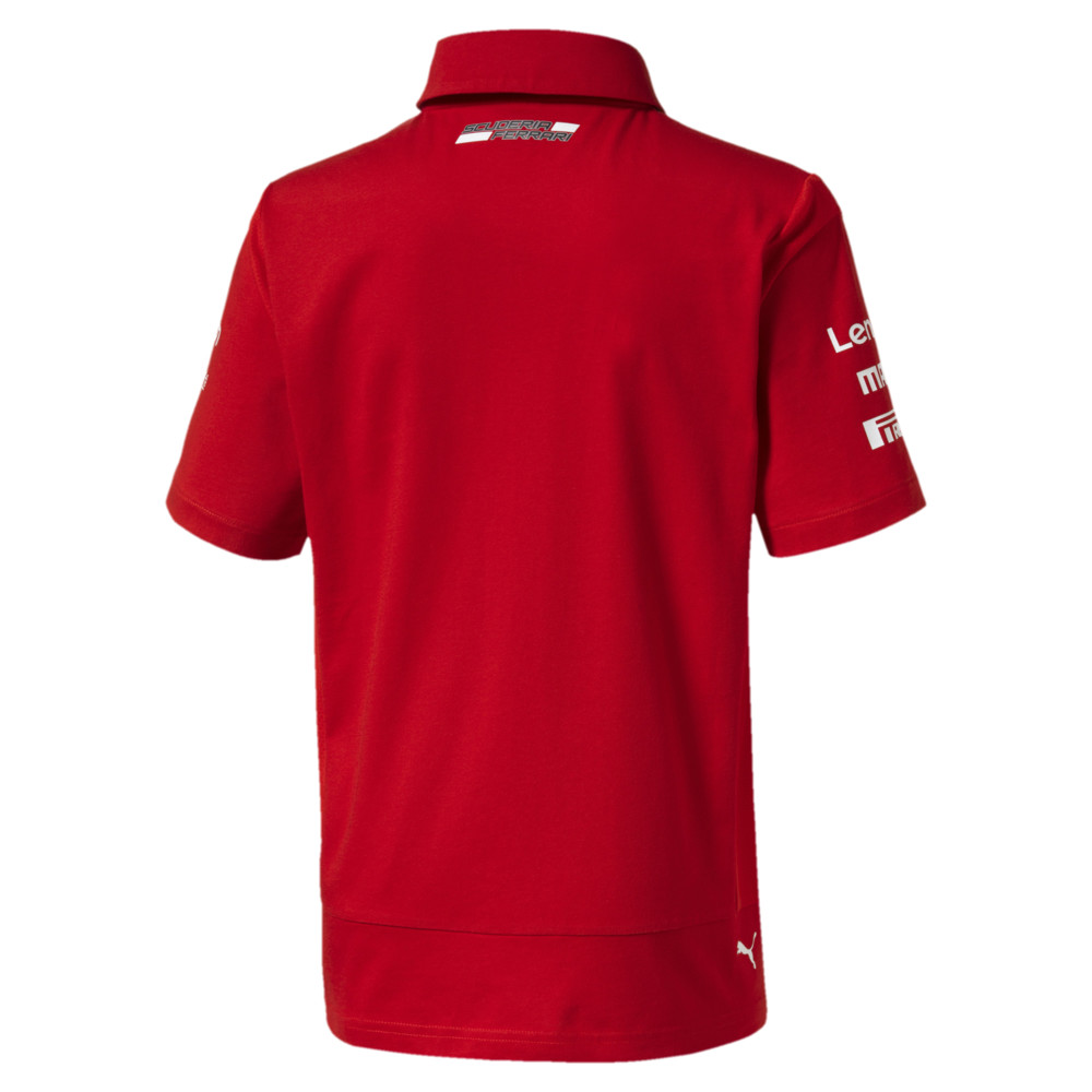 Image Puma Ferrari Team Boys' Polo #2