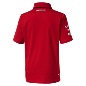 Thumbnail 2 of Scuderia Ferrari Boys' Team Polo JR, Rosso Corsa, medium
