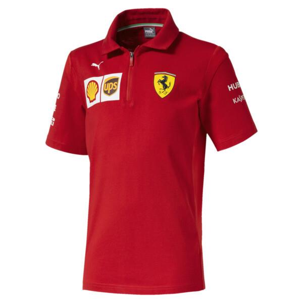 Scuderia Ferrari Boys' Team Polo JR, Rosso Corsa, large