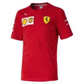 Camiseta del equipo Scuderia Ferrari para niño joven