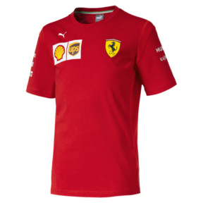 Thumbnail 1 of Scuderia Ferrari Boys' Team Tee JR, Rosso Corsa, medium