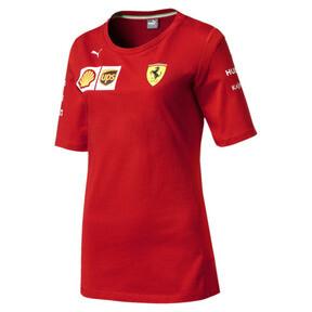 Thumbnail 1 of Ferrari Team Damen T-Shirt, Rosso Corsa, medium