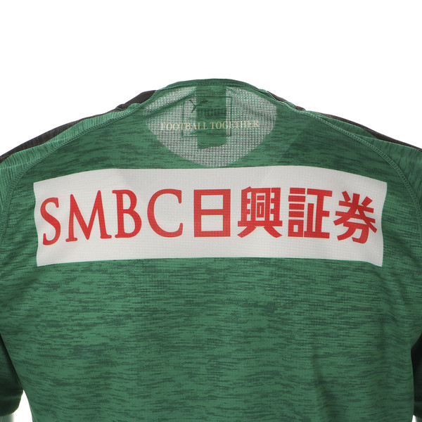 フロンターレ 19 ゴールキーパー 半袖 ゲームシャツ, Pepper Green Heather, large-JPN