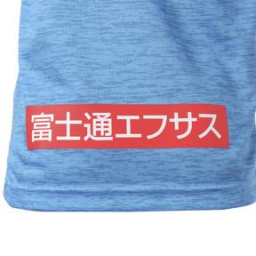 Thumbnail 11 of キッズ フロンターレ 19 ホーム ジュニア 半袖 ゲームシャツ, French Blue Heather, medium-JPN