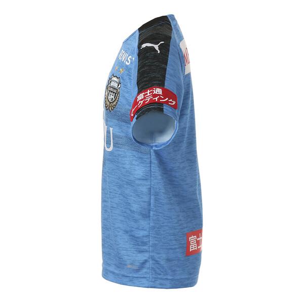 キッズ フロンターレ 19 ホーム ジュニア 半袖 ゲームシャツ, French Blue Heather, large-JPN