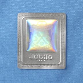 Thumbnail 9 of ジュビロ 19 ホーム 半袖 ゲームシャツ, AZURE BLUE Heather, medium-JPN