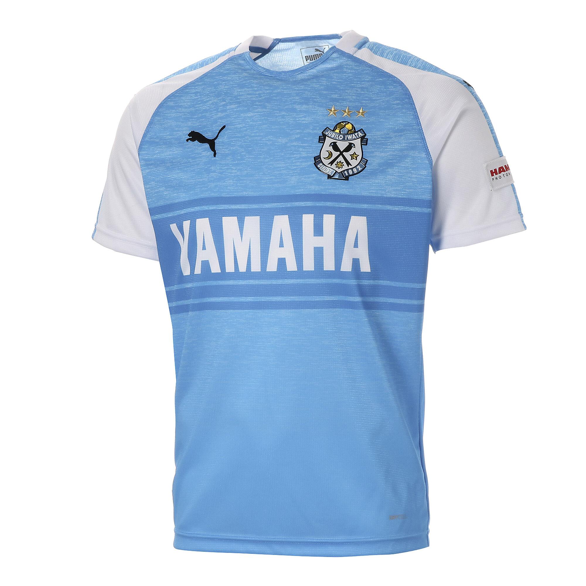 【プーマ公式通販】 プーマ ジュビロ 19 ホーム 半袖 ゲームシャツ メンズ AZURE BLUE Heather |PUMA.com