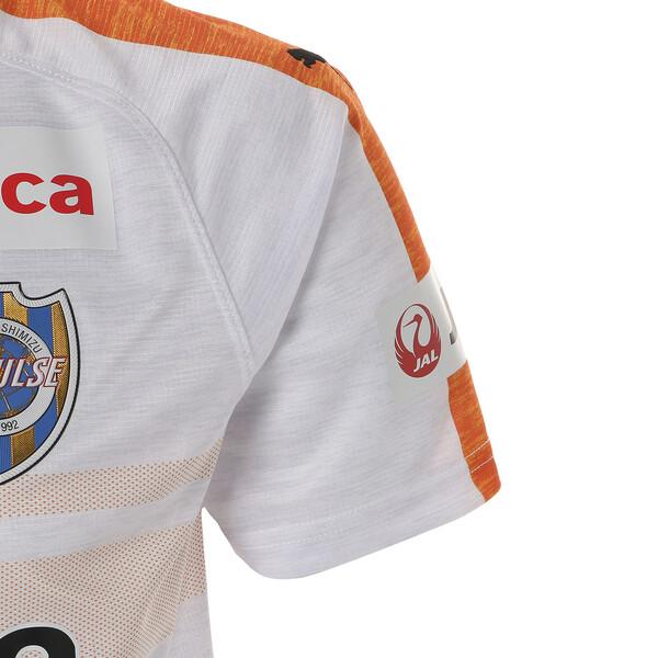エスパルス 19 アウェイ 半袖 ゲームシャツ, Puma White Heather, large-JPN
