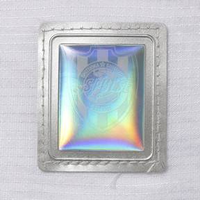 Thumbnail 9 of エスパルス 19 アウェイ 半袖 ゲームシャツ, Puma White Heather, medium-JPN