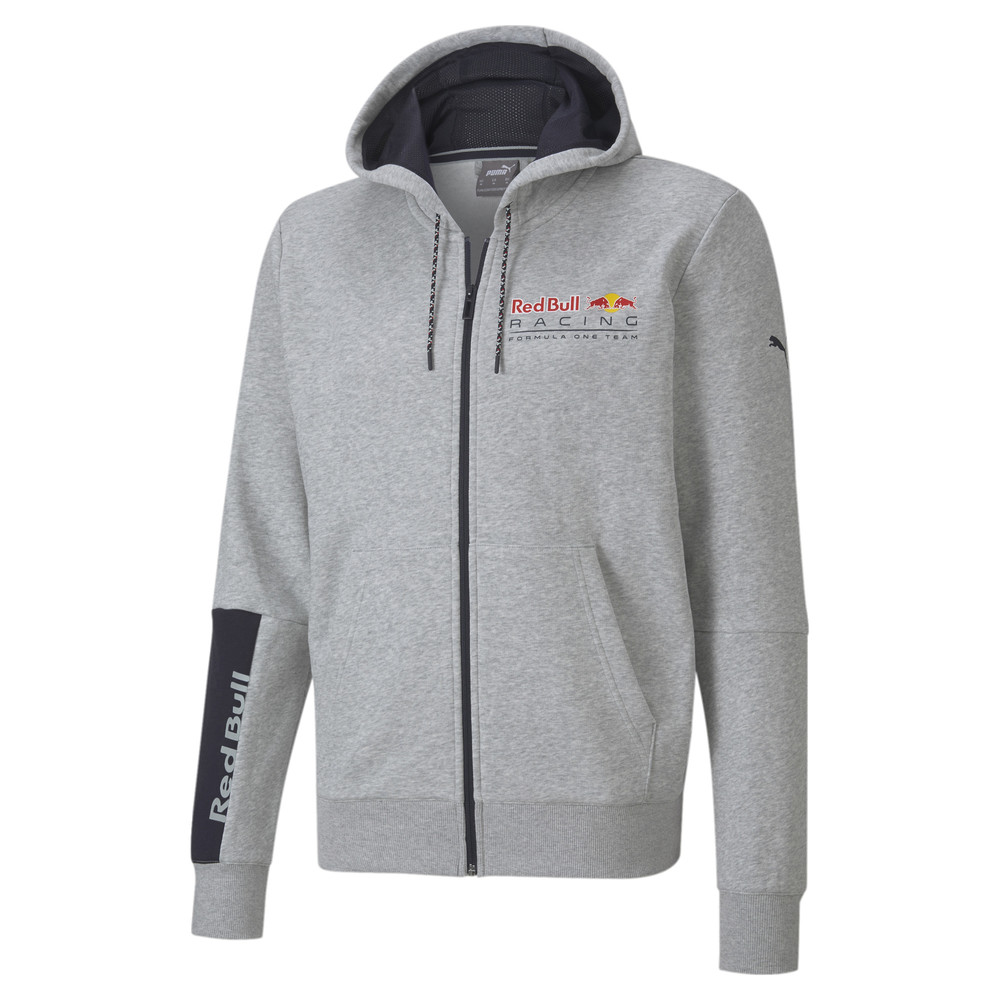 Изображение Puma Толстовка RBR Logo Hooded Sweat Jacket #1