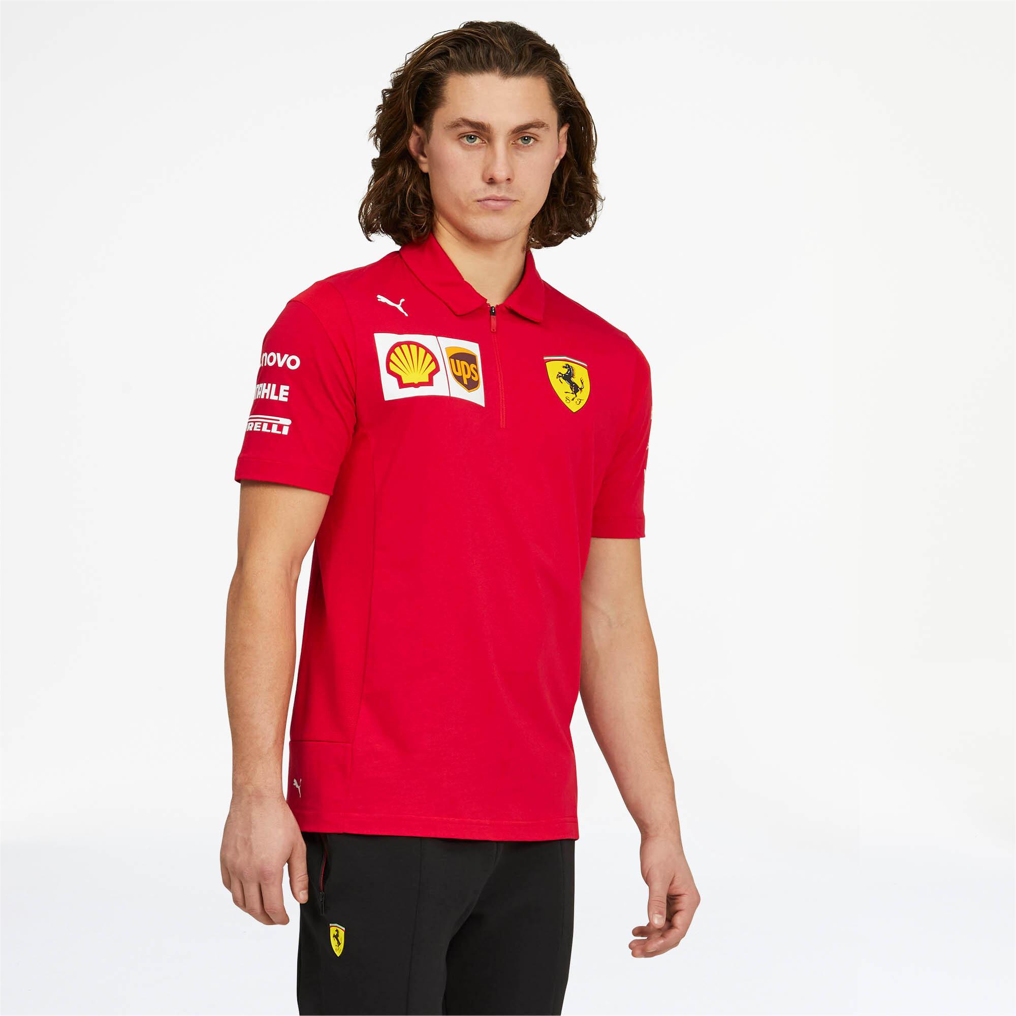 PUMA-Scuderia-Ferrari-Team-Polo-Men-Polo-Auto thumbnail 4