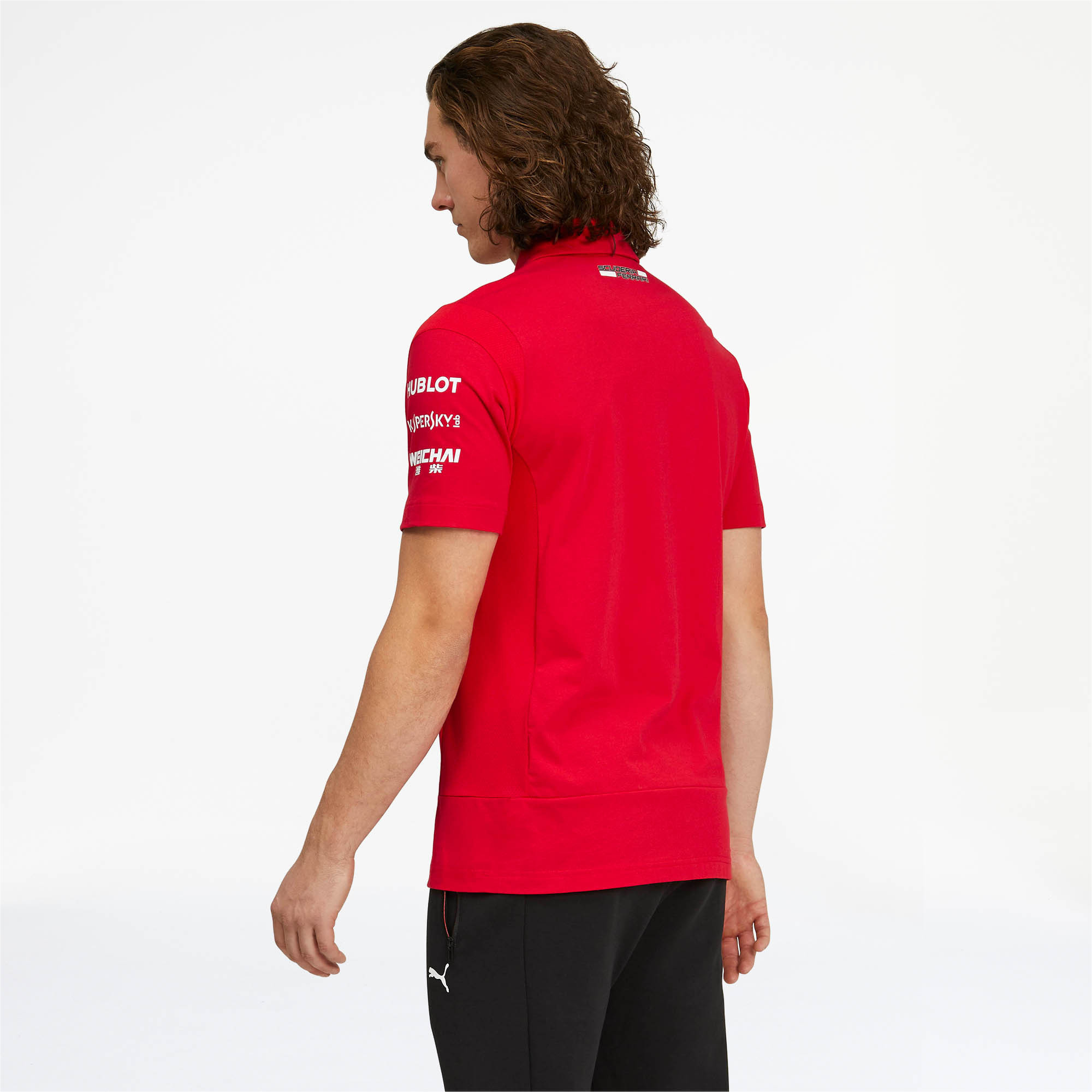 PUMA-Scuderia-Ferrari-Team-Polo-Men-Polo-Auto thumbnail 5