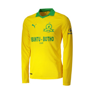Image Puma Mamelodi Sundowns Home Replica Long Sleeve Men's Jersey