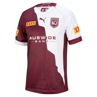 Image PUMA Queensland Maroons Captain's Run Replica Youth Jersey