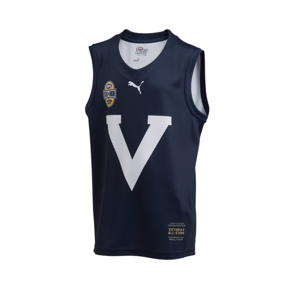 Image PUMA State of Origin Victoria Youth's Replica Guernsey #1