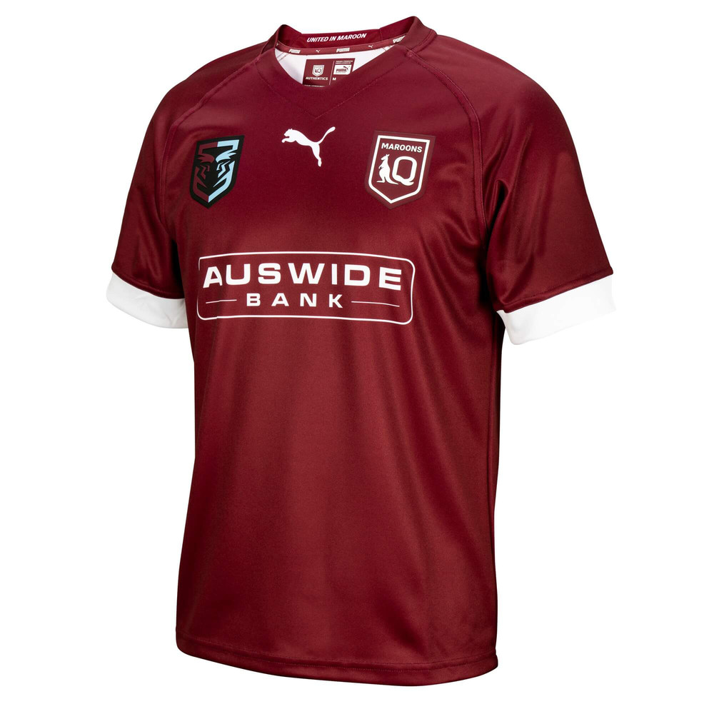 Image PUMA Queensland Maroons Youth Replica Jersey #1