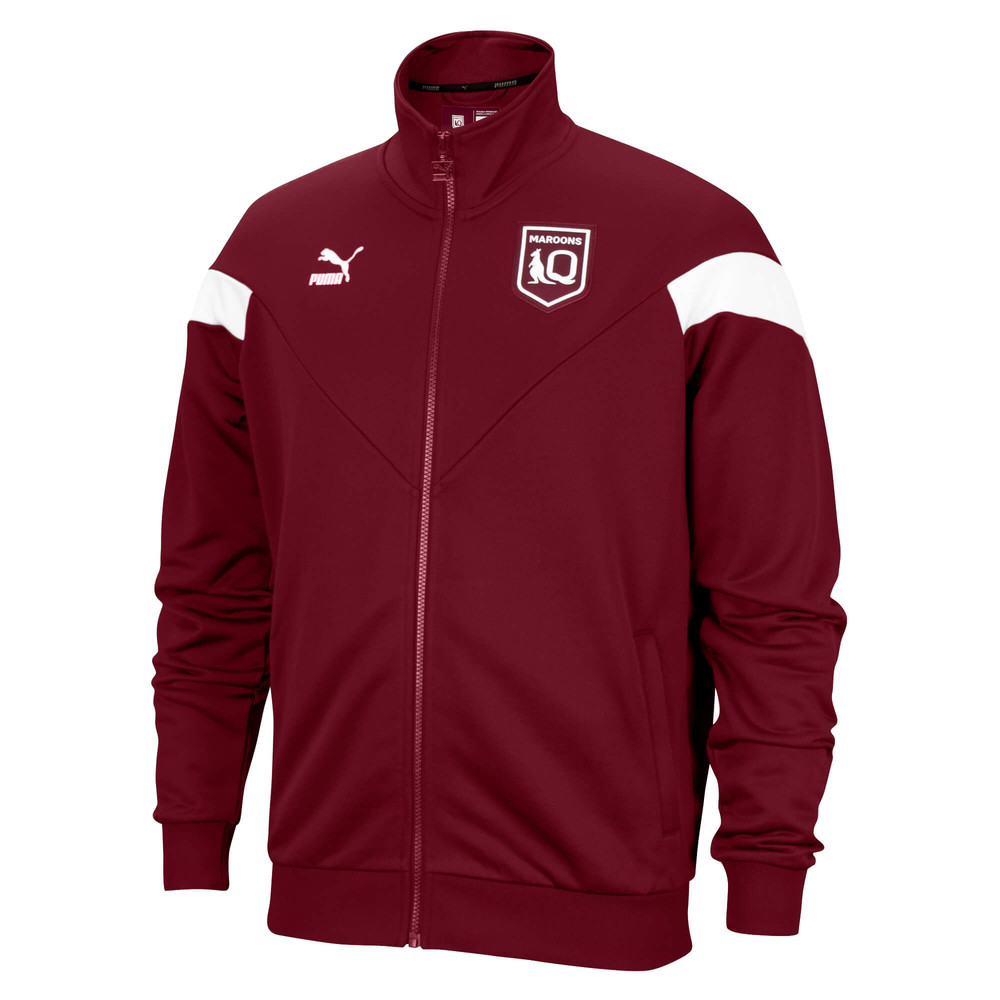 Image PUMA Queensland Maroons Youth Iconic Jacket #1